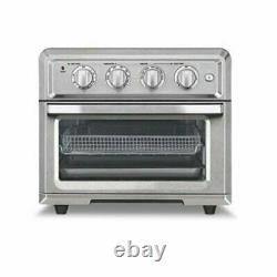 Cuisinart TOA-60 Air Fryer Toaster Oven Silver with 3 Piece Baking Set