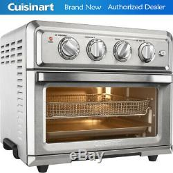 Cuisinart TOA-60 Convection Toaster Oven Air Fryer with Light, Silver