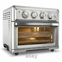 Cuisinart TOA-60 Convection Toaster Oven Air Fryer with Light, Stainless Steel