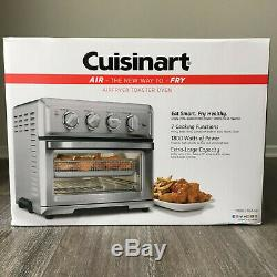 Cuisinart TOA-60 Stainless Steel Air Fryer Convection Toaster Oven 1800W Silver