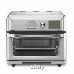 Cuisinart TOA-65 AirFryer toaster oven. 6 cu ft, Silver