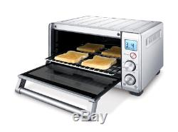 Electric Convection Toaster Oven 1800 W Bake Broil Roast Cookies Reheat Kitchen