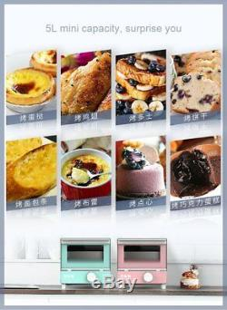 Electric Oven Baking Toaster Mini Breakfast Grill Machine Roaster Kitchen Device