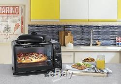 Electric Oven Grill Convection Countertop Toaster Cooking Kitchen 6 Slice Baking