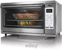 Extra Large Countertop Oven Electric Convection Cooking Bake Toast Rack Kitchen