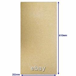 FIMAR CO2858 P17 610x305x17mm REFRACTORY STONE BAKING PIZZA OVEN GGF TAVEL015