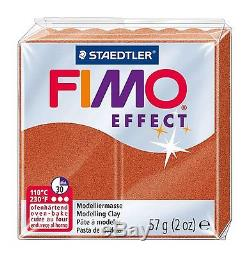 FIMO Effect 57g Polymer Modelling Oven Bake Clay All 36 Colours in FIMO Tub