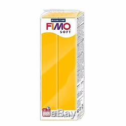 FIMO Soft Polymer Modelling Oven Bake Clay 350g Complete Set of 11 in Tub