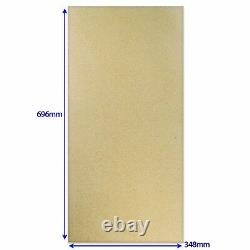 GAM RG100510 PIZZA OVEN REFRACTORY BAKING STONE PERFORATED 696mm x 348mm x 17mm