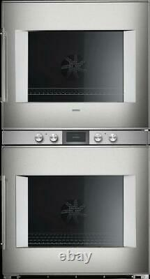Gaggenau 400 Series 30 TFT Touch Display Electric Double Wall Oven BX480612