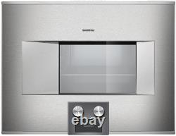 Gaggenau BS474611 400 Series 24 Inch Electric Combi-Steam Oven Right Hinge