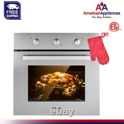 Gasland Chef ES606MS 24 Built-in Stainless Steel Electric Single Wall Oven