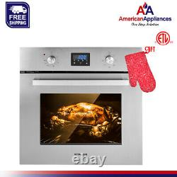 Gasland Chef ES609DS 24 Built-in Stainless Steel Electric Single Wall Oven