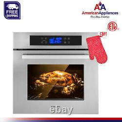 Gasland Chef ES611TS 24 Built-in Stainless Steel Electric Single Wall Oven