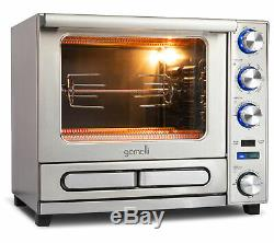Gemelli Twin Oven, Professional Grade Convection Oven with Built-In Rotisserie