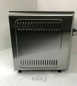 Gourmia Digital Stainless Steel Air Fryer Oven 16-in-1 Multi-function