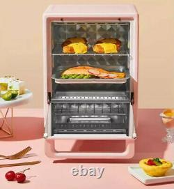 Hello Kitty Electric Mini Oven 220V Cake Bread Pizza Cupcakes Baking Pink