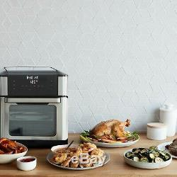 Instant Vortex Plus 7-In-1 Large Air Fryer Oven 10 QT Roast Broil Bake Dehydrate