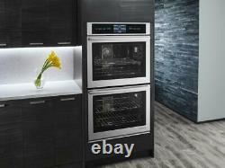 JennAir Euro-Style JJW3830DS 30 Double Combination Smart Electric Wall Oven