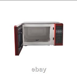 Kitchen Office Home Mini Microwave Oven Digital Countertop Red Black White Small