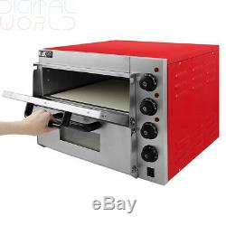 Kukoo Electric Pizza Oven with Timer / Commercial Baking & Grilling for café