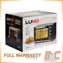 LUND Oven Electric 2000 W 38 L Compact Table Top Grill Baking Cooking Roast
