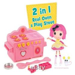 Lalaloopsy Baking Oven, 120V Ages8+ Pink Mold Spatula, Ac 100W Ul Electric Spoon