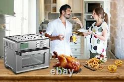 Large Capacity 26.8 qt Toaster Oven with Air Fryer 24 in 1 Multi-function