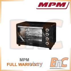 MPM Oven Electric 2000 W 45 L Compact Table Top Grill Baking Cooking Roast