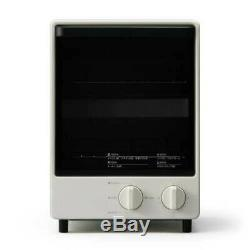 MUJI MJ-OTL10A Vertical Toaster Oven Baked Two Breads Top and Bottom Japan EMS