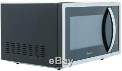 Magic Chef Countertop Microwave Oven Baking 1.6 Cu Ft 1100W Auto Defrost Black