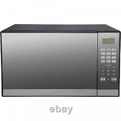 Microwave Oven with Grill 1.3 cu. Ft. Countertop Stainless Steel Mirror Finish