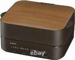 Mitsubishi TO-ST1-T toaster Bread oven Electric brown Kitchen Tool