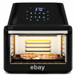 Multi-functional Power Air Fryer Oven All-in-One 16.9 Quart Dehydrator Roaster