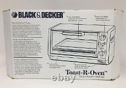 NEW Black & Decker Under Cabinet Toaster Oven Bake Broil Thaw Spacemaker TRO 200