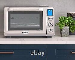 NEW DeLonghi EO241150M Livenza Stainless Steel Digital Convection Oven