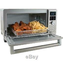 NUWAVE BRAVO XL AIR FRYER TOASTER CONVECTION OVEN grill heat bake cook broiler