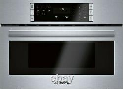 New Bosch 500 Series 27 1.6 LCD Controls Built-In Microwave Oven HMB57152UC