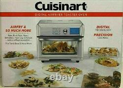 New Cuisinart Digital AirFryer Toaster Oven TOA-65