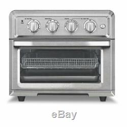 New Inbox Cuisinart TOA-60 Toaster Oven Air Fryer Bake Toast Broil Convection