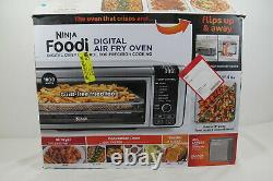 Ninja Toaster Oven with Air Fryer Stainless Steel/Black