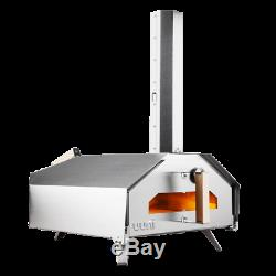 OONI Pro Portable Pro Wood Fired Pizza Oven With Stone Baking Board- Free Ship