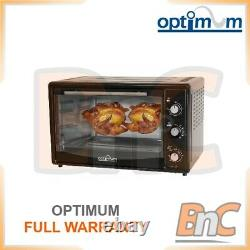 OPTIMUM Oven Electric 1800 W 42 L Compact Table Top Grill Baking Cooking Roast