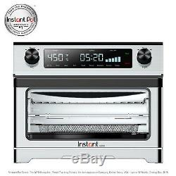 Omni Toaster Oven Air Fryer 9-In-1 Dehydrate Toast Roast Bake Rotisserie Spit