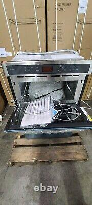 Open Box 27 Built In GE Profile Oven-Microwave Stainless Steel PK7800SKSS
