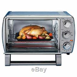 Oster 6-Slice TSSTTVCG05 Turbo Convection Toaster Oven Brushed Stainless Steel