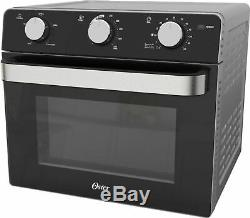 Oster Air Fryer Toaster Oven Black