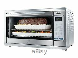 Oster Extra-Large Convection Countertop Oven Digital Controls Bake, Broil, Toast