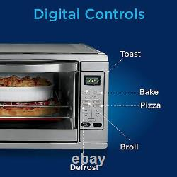 Oster Extra Large Digital Countertop Convection Oven, Stainless Steel TSSTTVDGXL