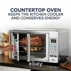 Oster French Convection Countertop Toaster Oven Single Door Pull Digital Control